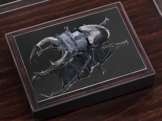 "Igor Uchevatov. The sculpture ""stag beetle"" - photo 1"