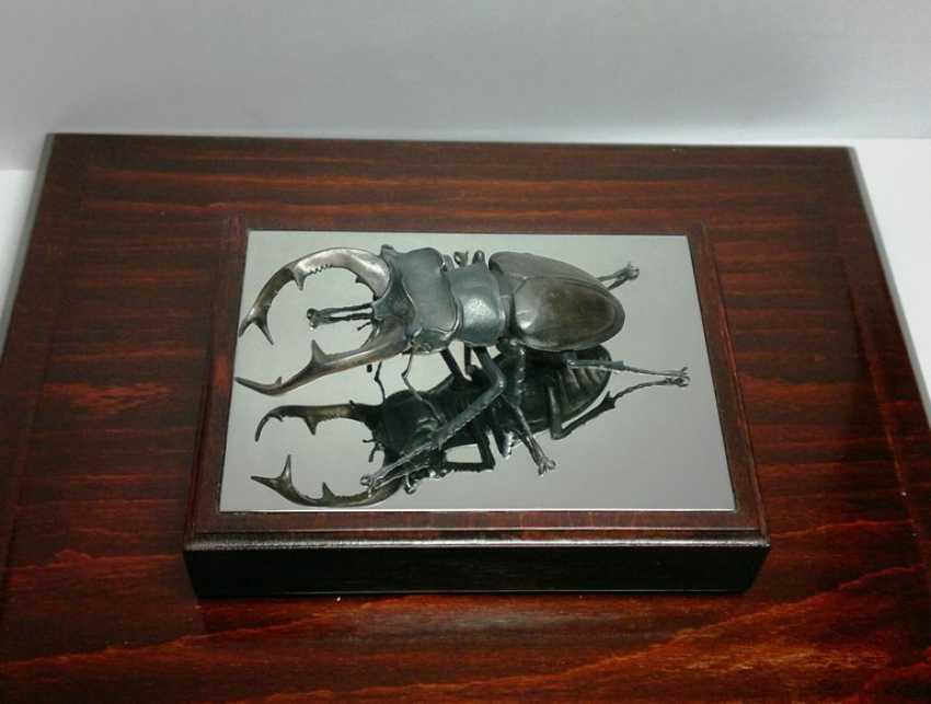 "Igor Uchevatov. The sculpture ""stag beetle"" - photo 4"