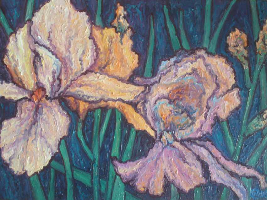 Julia Sovtus. Irises - photo 1