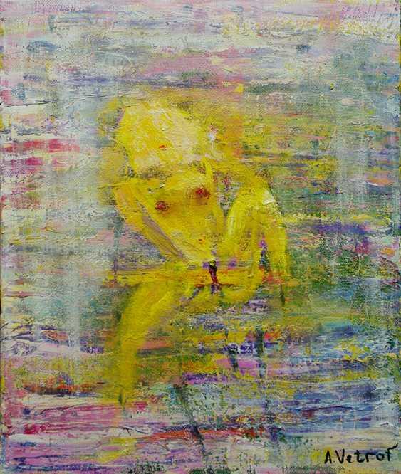 Alik Vetrof. Nude oil on canvas - photo 1