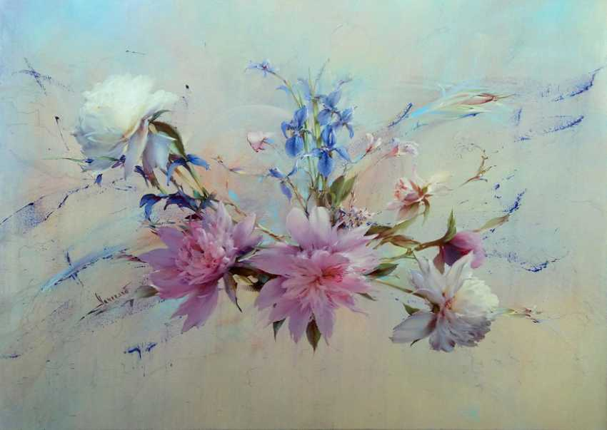 Vlad Lechehleb. Sunshine and the fragrance of peonies. - photo 1