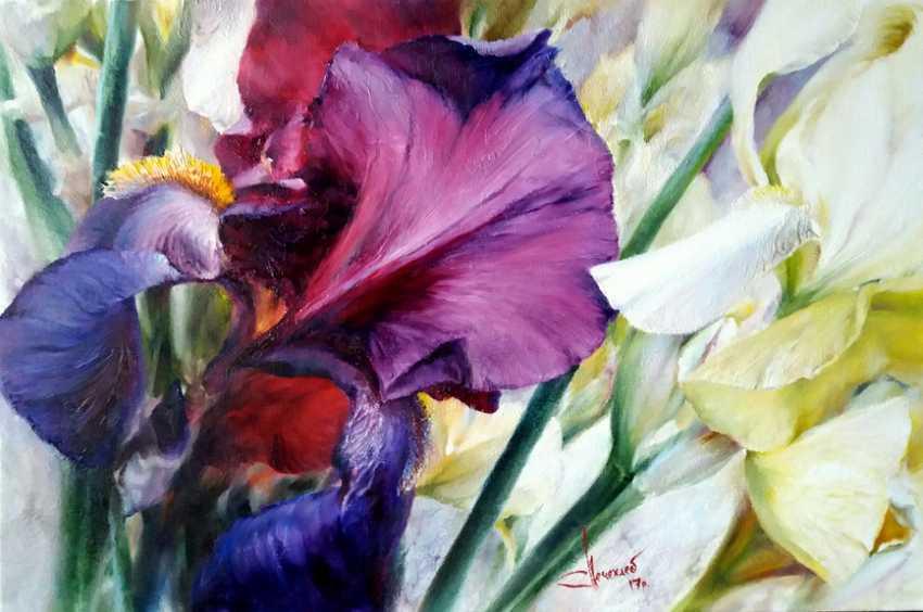 Vlad Lechehleb. Irises. - photo 1