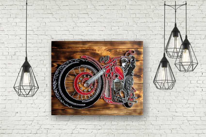Alla Anisimova. Motorcycle - photo 1