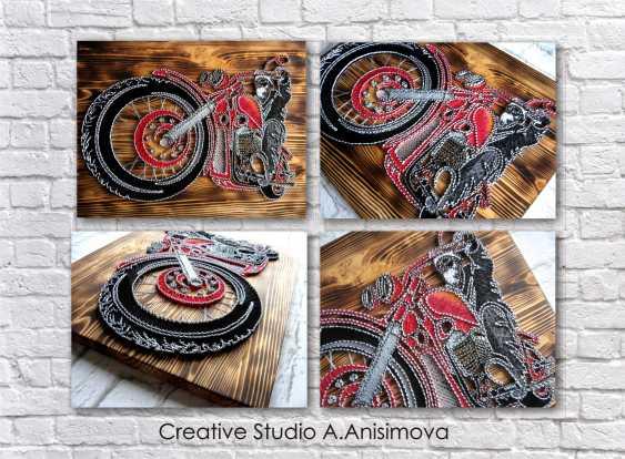 Alla Anisimova. Motorcycle - photo 3