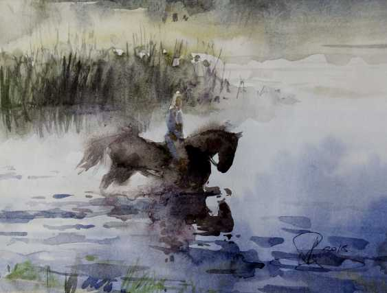 Aleksey Tochin. Bathing horses - photo 1
