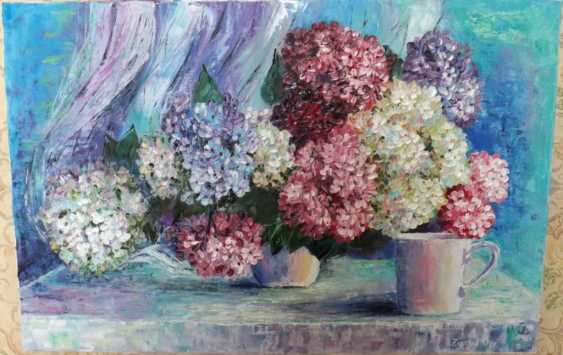 Olga Zemskhykh. The hydrangea flowers. - photo 1