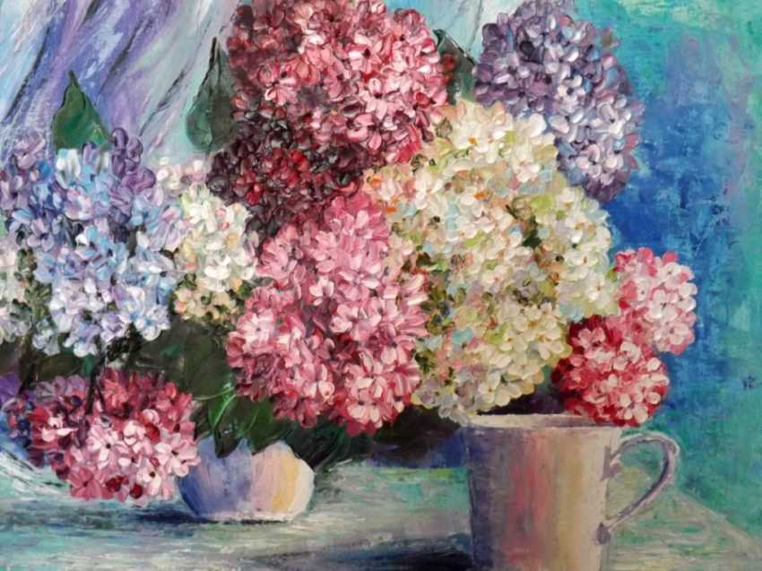 Olga Zemskhykh. The hydrangea flowers. - photo 2