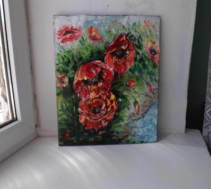 Olga Zemskhykh. Poppies. - photo 2
