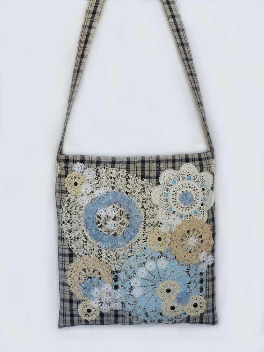 Olga Zemskhykh. Bag in vintage style, boho. - photo 4