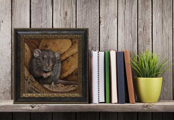 Olga Tsvetkova. Cute grey rat - photo 3