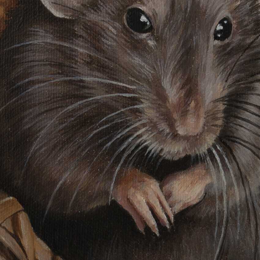 Olga Tsvetkova. Cute grey rat - photo 4