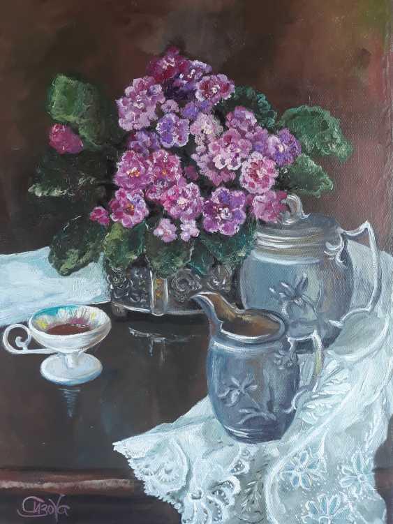 """Inna Sizova. """"Violet tea"""" - photo 1"""