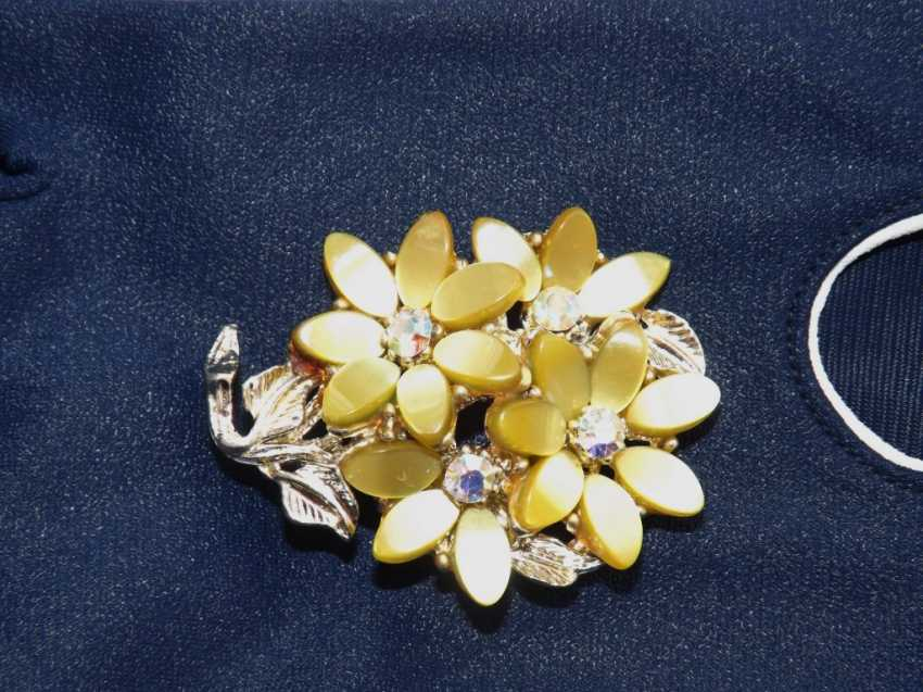 Olga Zemskhykh. Brooch, vintage, England. - photo 2