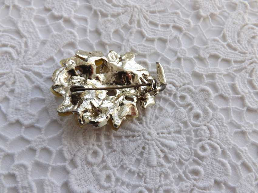 Olga Zemskhykh. Brooch, vintage, England. - photo 4