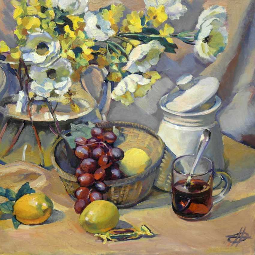 "Olga Nikonova. ""Morning tea"" - photo 1"