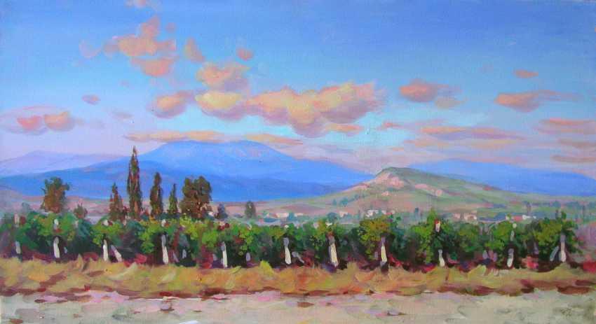 Vadim Mitkov. Eastern Crimea. A view of the vineyards - photo 1