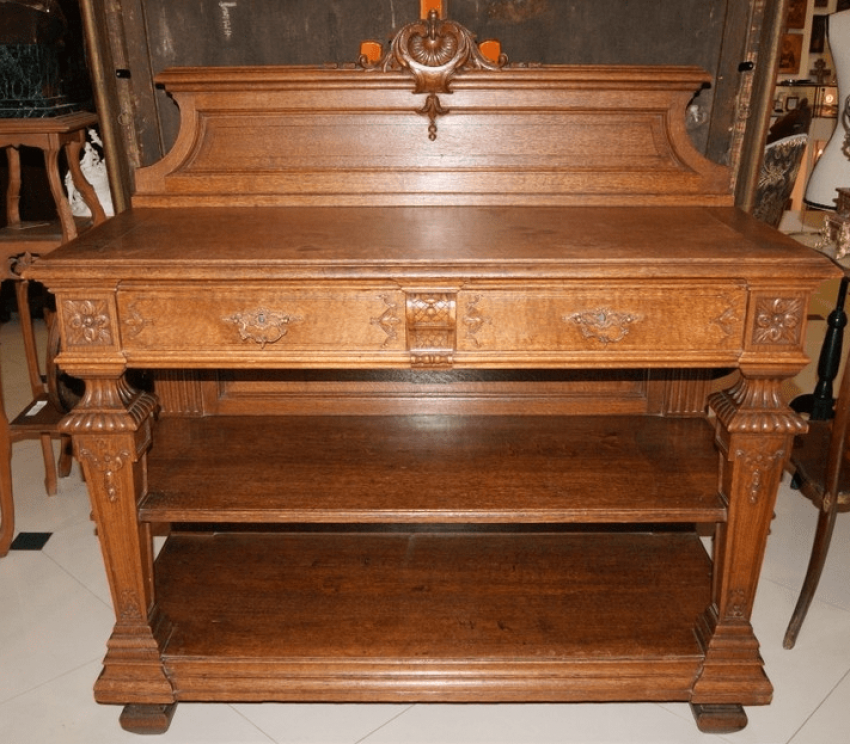 The table-drawers, the nineteenth century. - photo 1