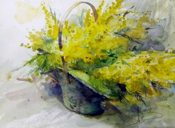 Aleksey Tochin. Basket with a Mimosa - photo 1
