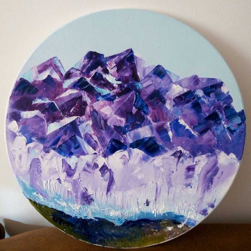 "Marya Krama. ""Amethyst mountain"" - photo 1"