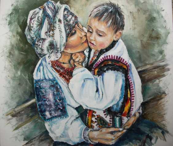alla mykhalchuk. Eternal talisman. Ukrainian Madonna. - photo 1