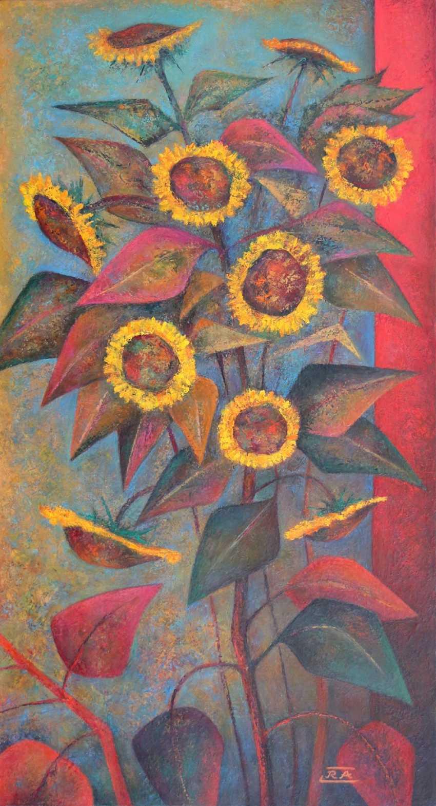 Rafail Aliyev. Sunflowers - photo 1