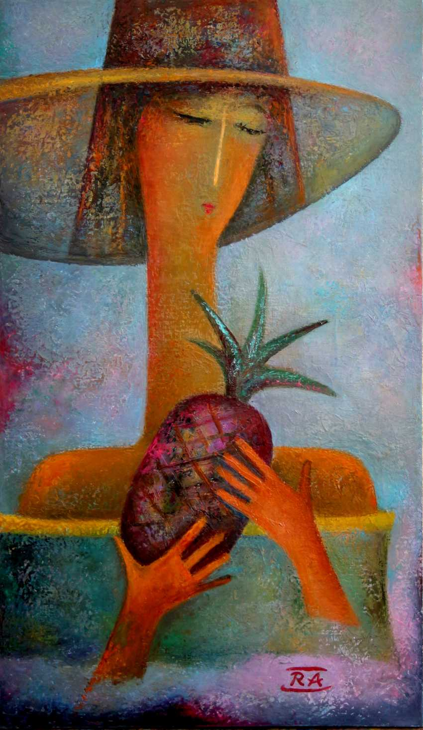 Rafail Aliyev. The girl with the pineapple - photo 1