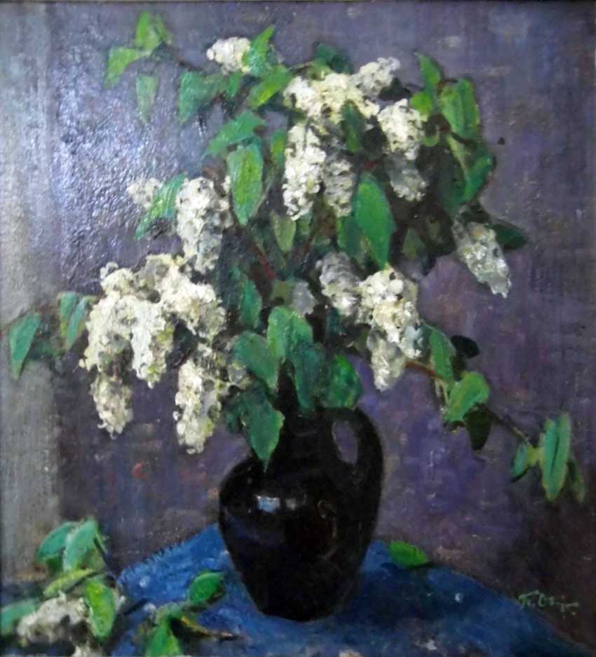 Igor Medvedev. Flowers of bird cherry - photo 1