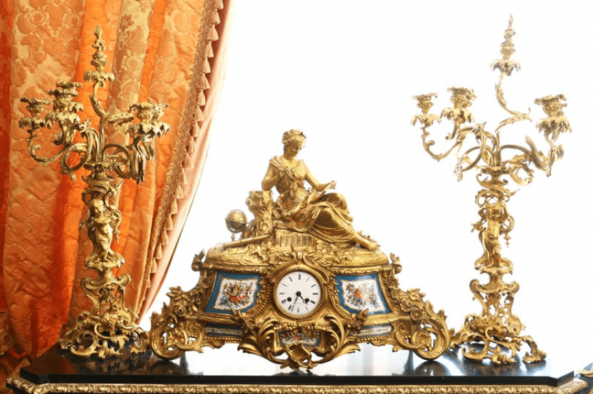 Mantel clock Seth Europe of the XIX century. - photo 1