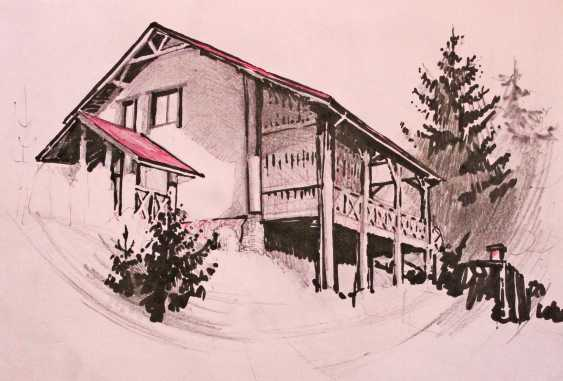 Yaryna Dobrovolska. Carpathian cottage - photo 1