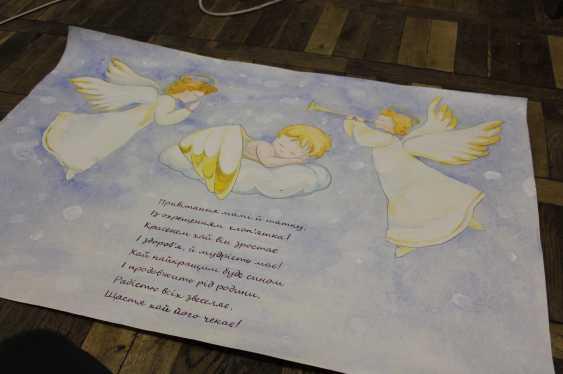 Yaryna Dobrovolska. How to decorate a baby christening? - photo 1