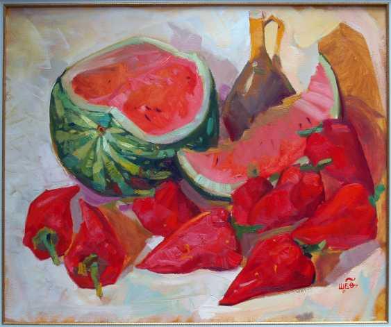Viacheslav Shulika. Watermelon and pepper - photo 1