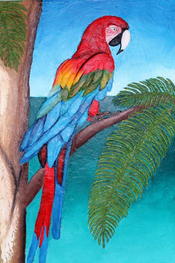 Toma Reut. Macaw Parrot - photo 1