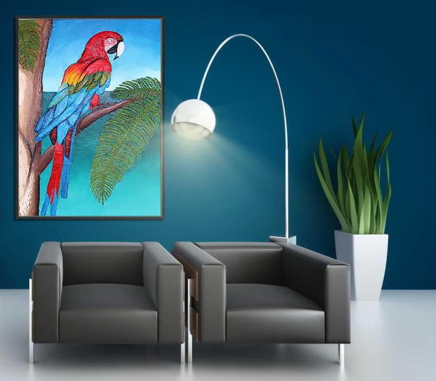 Toma Reut. Macaw Parrot - photo 2