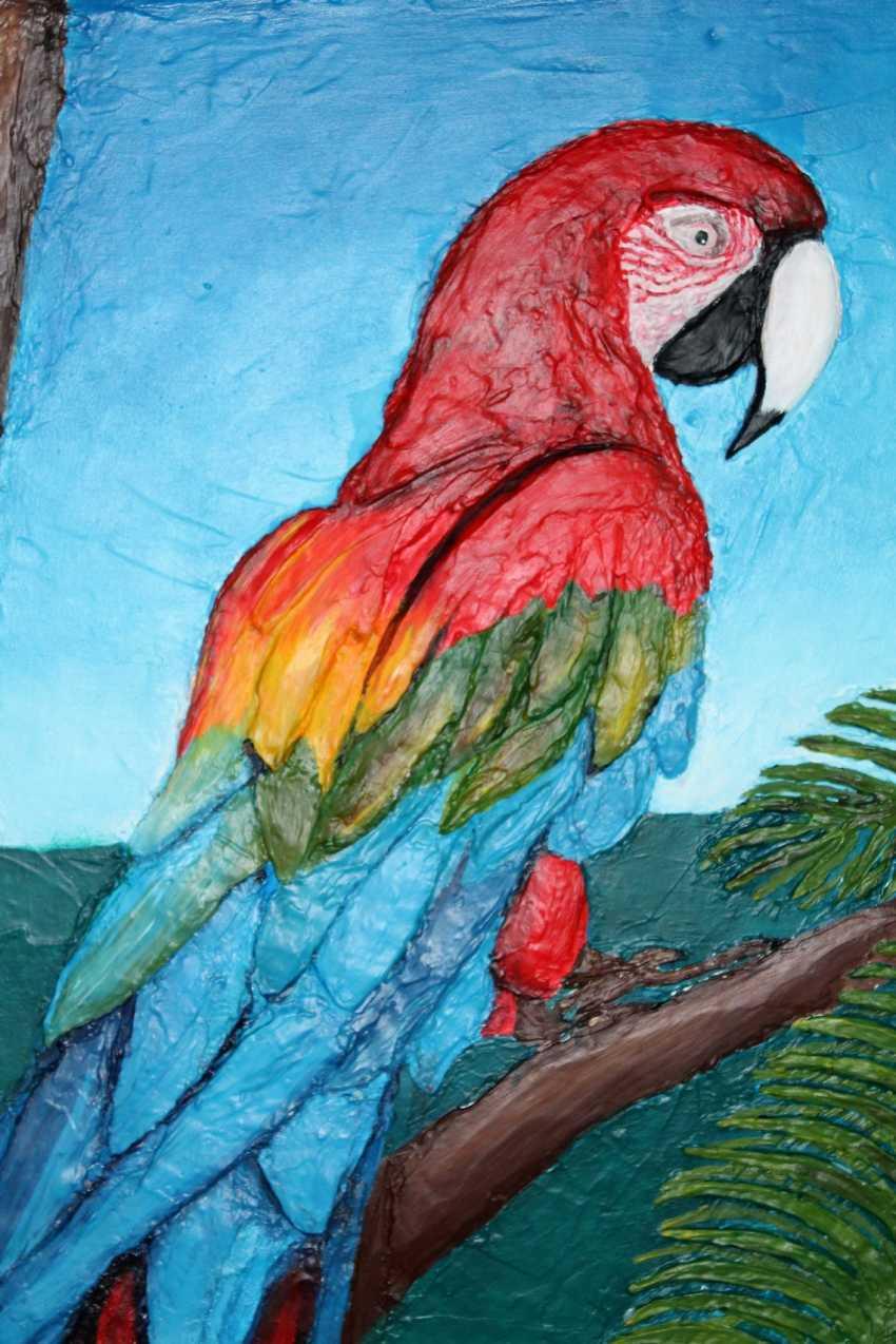 Toma Reut. Macaw Parrot - photo 4