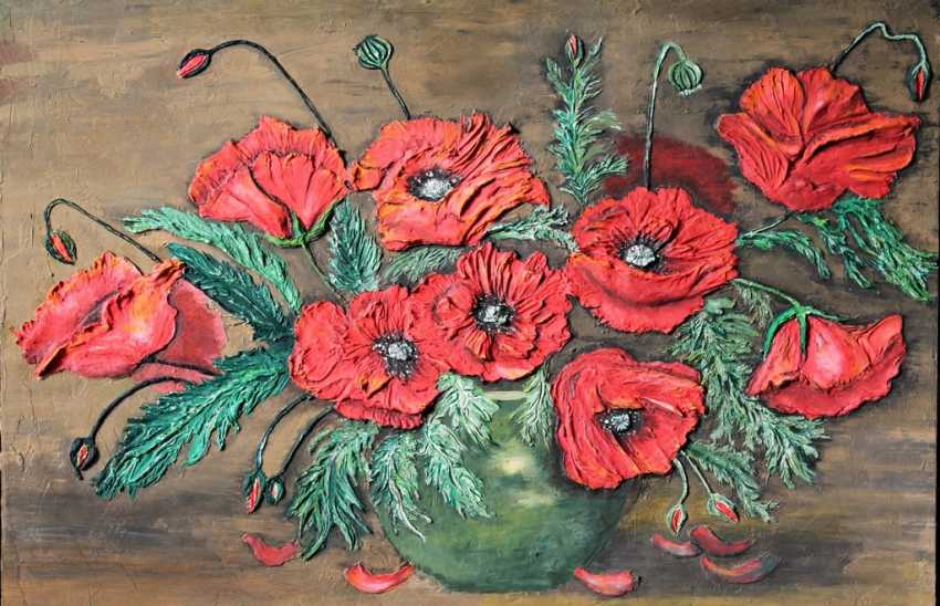 Toma Reut. Passionate poppies - photo 1