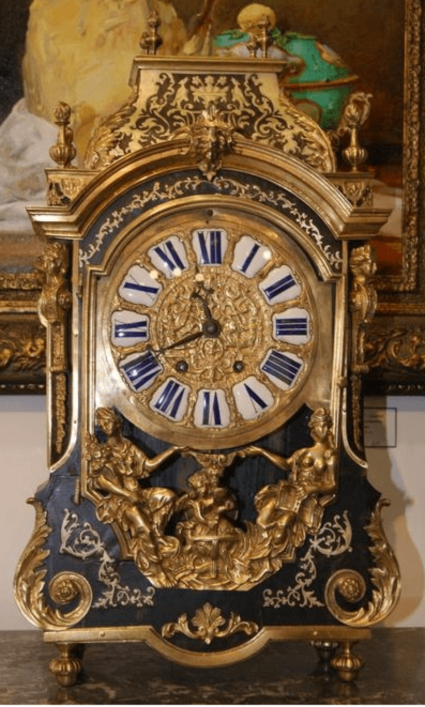 Clock in the style of Buhl, the late. XVIII - early XIX century France - photo 1