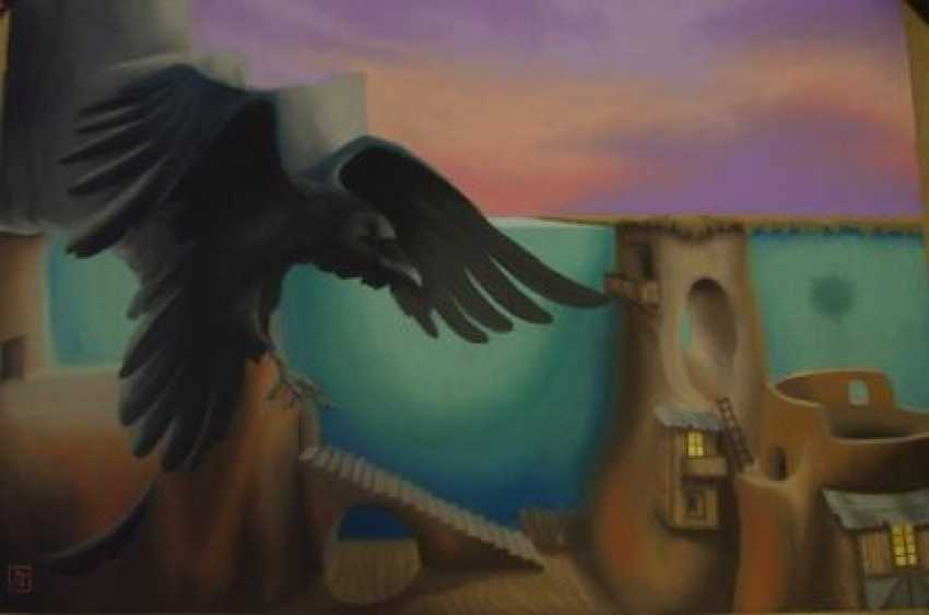"Ingwar Reshetniak. ""Flight of the crow"" - photo 1"