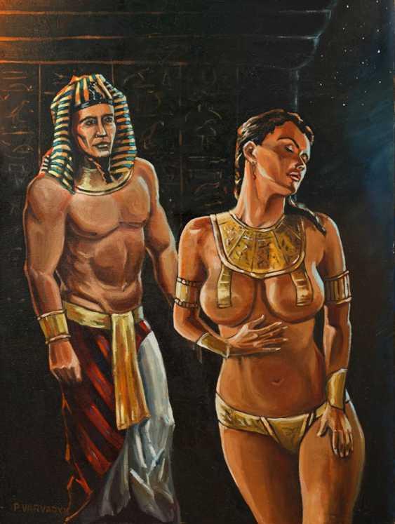 "Pavlo Varvaryk. ""Fantasy. The Pharaoh's concubine"". - photo 1"