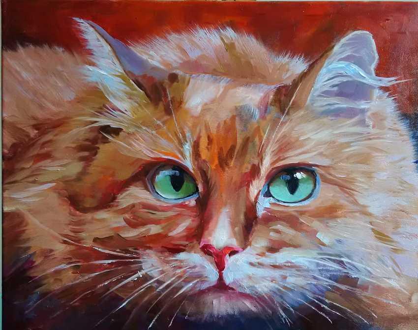 Jelena Burlane. Cat - photo 1