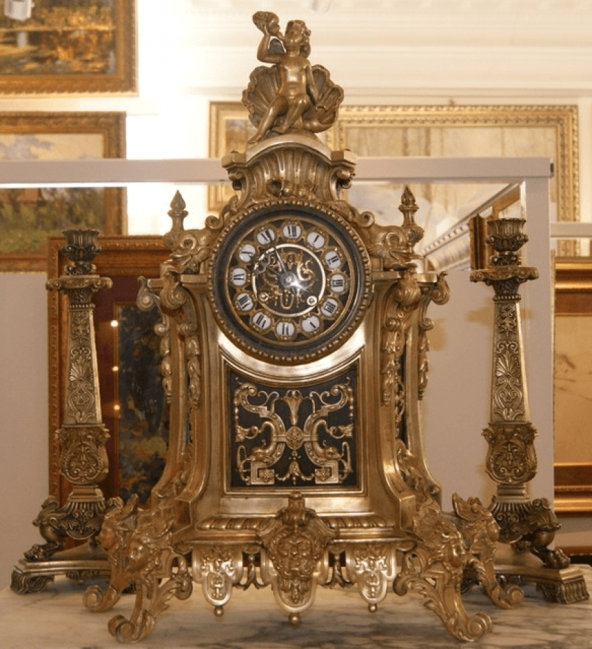 Mantel clock Seth nineteenth century Europe - photo 1