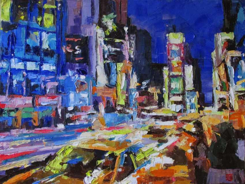 Kateryna Bortsova. New York. Times Square. - photo 1