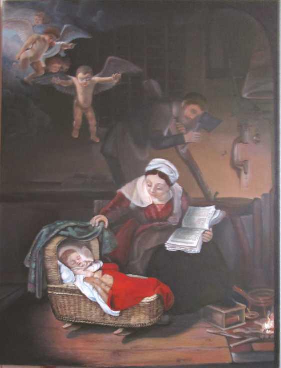 "Tamara Yakubovskaja. ""The Holy family"" list - photo 1"
