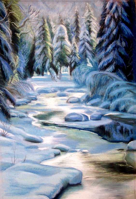 Olga Melnikova. Winter river - photo 1