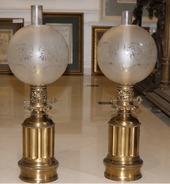 Lamps pair, Europe the late. XIX — early XX century. - photo 1