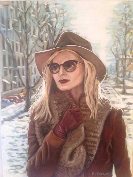 "Pavlo Varvaryk. ""Spring. Portrait Of A Townswoman"". - photo 1"