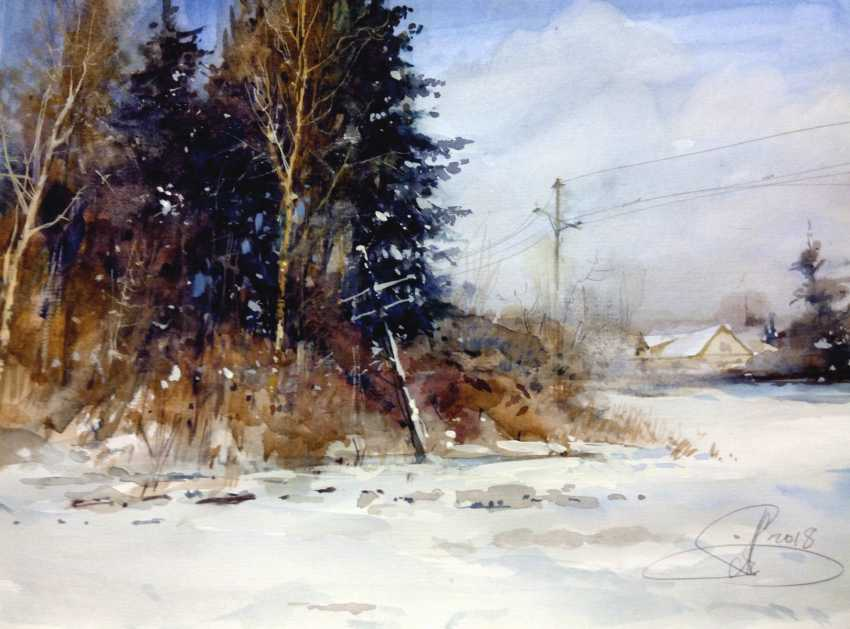 Aleksey Tochin. Winter sketch - photo 1