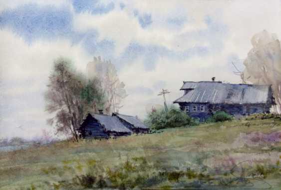 Aleksey Tochin. Sketch watercolor. - photo 1