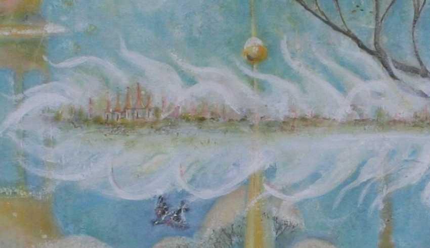 Tatiana Ostapenko. Your winter city-angel feather. - photo 3