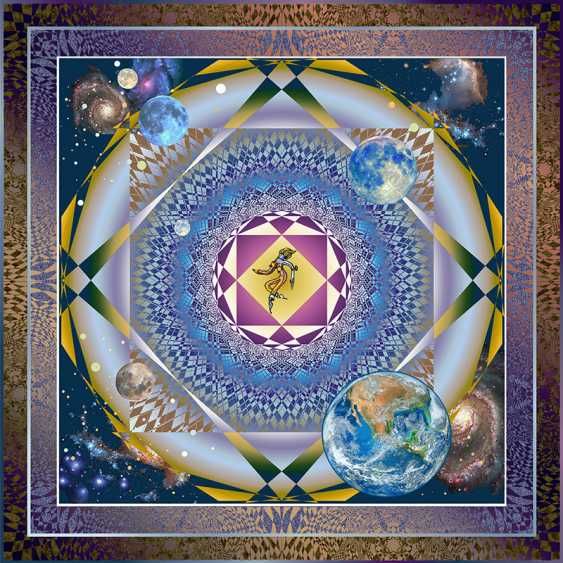 "Yuriy Safonov. ""Wheel of Fortune"" (cosmic horoscope of the Artist) - photo 1"