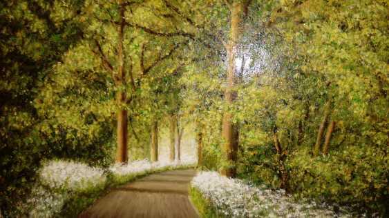 Maria Korda. Road through forest in summer - photo 1